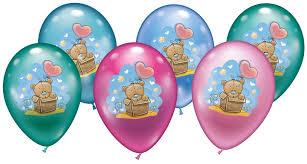 teddy balloons karaloon shop 6 balloons baby teddy