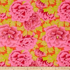 Magenta Home Decor Kaffe Fassett Kimono Crimson Magenta Discount Designer Fabric