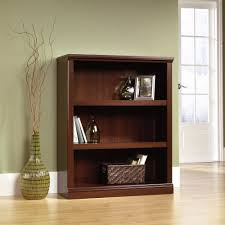 Sauder 4 Shelf Bookcase Sauder 412808 Sauder Select Collection Select Cherry 3 Shelf Bookcase
