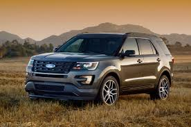 land rover range rover sport 2016 comparison ford explorer limited 2016 vs land rover range