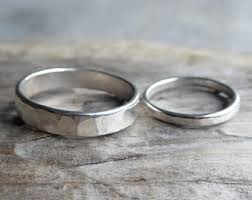 wedding bands for couples wedding bands etsy