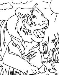 images of savanna grassland animals coloring sc