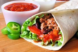 cuisiner mexicain recette facile de burritos mexicain à la viande mexicain