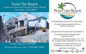 Fort Myers Beach Florida Map by Fmb Art Association