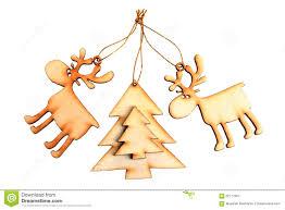 wooden tree decorations stock photo image 62777651