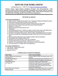 sample resumes for business analyst brilliant ideas of cognos business analyst sample resume in brilliant ideas of cognos business analyst sample resume in cover