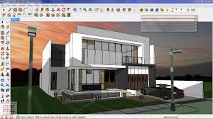 3d Home Architect Design Tutorial by Google Sketchup Tutorial 16 Vray Exterior Night Scene Access To