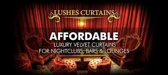 Curtains Show Affordable Luxury Velvet Drapes For Nightclub Bar Lounge