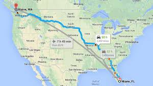 Google Map Of Mexico by Miami Car Thief Drives To Washington State In 2 Days Nbc 6 South
