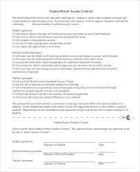teacher contract template best resumes