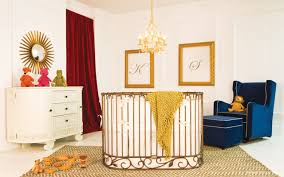 gold cribs project nursery