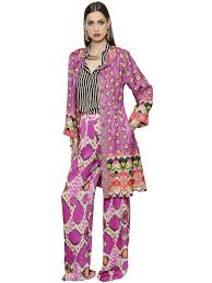 etro outlet store cabazon etro ethnic printed silk blend light