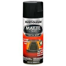 rust oleum automotive 12 oz matte finish spray paint 263422 the