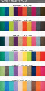 pantone colors through the years brandi blog color