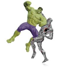 2015 hallmark ornament marvel avengers age of ultron the hulk vs