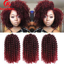 short curly crochet hairstyles short curly hair locks synthetic hair extensions ebay