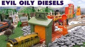 thomas and friends evil oily diesel 10 thomas y sus amigos toy
