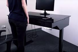 Standing Desk For Gaming Lian Li Dk 04 Standing Desk