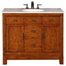 One Sink Bathroom Vanities by Scott Single Sink Bathroom Vanity Cream Marfil Marble Top 42