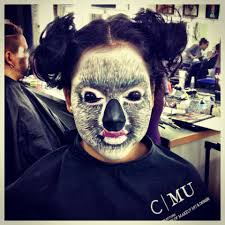 halloween airbrush makeup koala makeup on sarah my works as a makeup artist pinterest