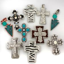 wholesale cross necklace pendants images Wholesale western jewelry rhinestone bracelets pendants jpg