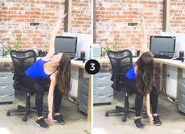Desk Yoga Poses Office Workout 6 Yoga Poses To Do At Your Desk