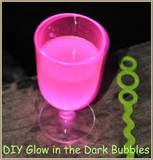 DIY Glow in the Dark Bubbles  Crafts 4 Boys