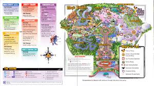 magic kingdom disney map magic kingdom at walt disney 2004 park map mnsshp
