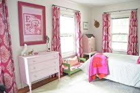 Girls Bedroom Window Treatments Fuchsia U0027s Bedroom