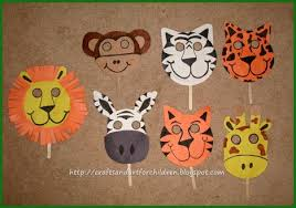 lion mask craft handmade animal masks make your own artsy momma