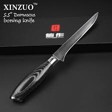 vg10 kitchen knives xinzuo 5 5 inch boning knife damascus kitchen knives sharp