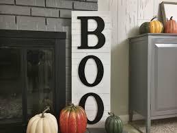Elegant Halloween Home Decor Diy Halloween Boo Decor Fixer Upper Style Birkley Lane Interiors