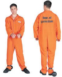 orange jumpsuit department of corrections costume caufields com
