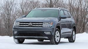 volkswagen atlas interior sunroof 2018 volkswagen atlas first drive a firm handshake