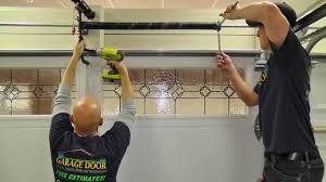 Overhead Door Repair Houston by How To Repair A Garage Door House Design