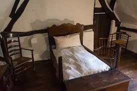 chambre à coucher rustique chambre à coucher rustique médiévale photo stock image du