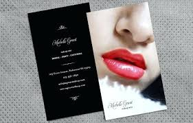 makeup artists business cards lip shaped business cards lifysummit co