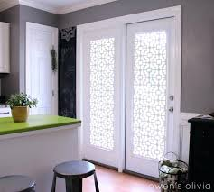 Half Door Curtain Panel Front Doors Curtains Drapes And Blinds For A Glass Front Door