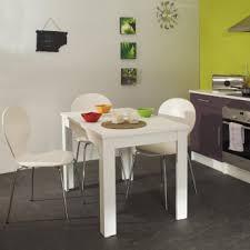 cuisine rectangulaire table de cuisine rectangulaire contemporaine blanche daliane
