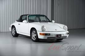 porsche targa white 1992 porsche 964 carrera 2 targa carrera stock 1992132 for sale