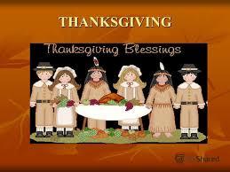 презентация на тему thanksgiving thanksgiving history