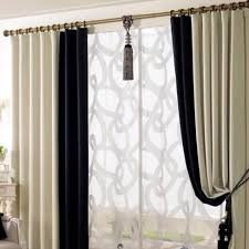 Black And White Draperies White Living Room Curtains Curtains To Compliment A Gray Color