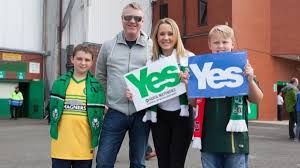 Sofa King Larkhall by Will Glasgow U0027s Old Firm Rivalry Sway The Independence Referendum