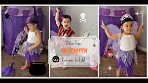 Good Family Halloween Costumes by Dollar Tree Kids Halloween Costumes 2016 Youtube