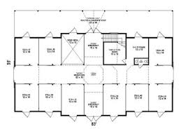 outbuilding plans horse barn plan with hay loft design 006b