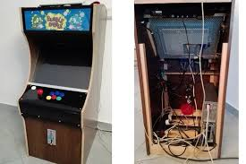 Building A Mame Cabinet Arcade Cabinet Build Takes Quarters Dispenses Fun Hackaday