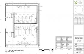 ada bathroom layout with urinal compliant residential layouts