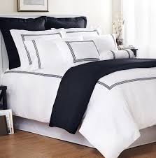white and navy duvet cover home design ideas