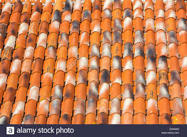 Mediterranean Houses by Traditional Old Roof Tiles On Mediterranean Houses As Texture