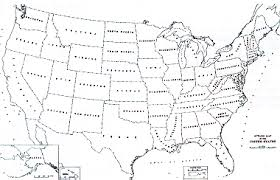 united states map black and white maps of the united states brochure